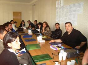 Final workshop with participation of project beneficiaries